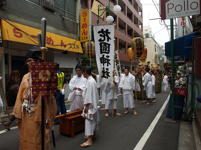 hanazono shrine festival