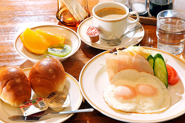 Western breakfast set